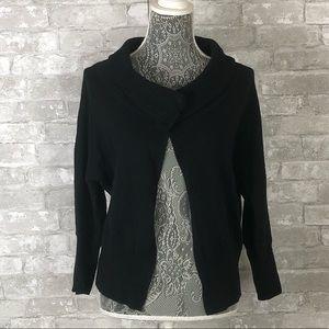 BANANA REPUBLIC Ribbed Knit Textured Cardigan